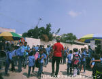 ガザで学校の新年度が始まりました