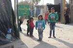 パレスチナとレバノンでも寒い冬が始まりました。
