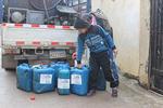大寒波到来中のレバノンで12月中旬と大晦日に燃料配布を行いました
